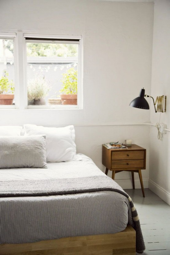 Inspirational Simple And Elegant Mid Century Modern Beds