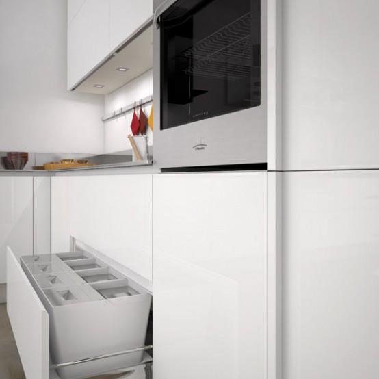 Simple And Sleek Kitchen Design