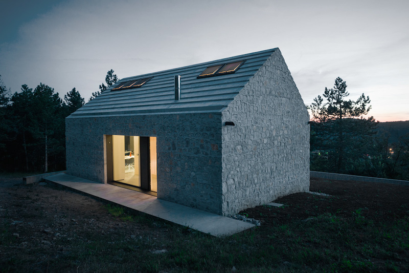 Simple And Stylish Minimalism: Compact Karst House