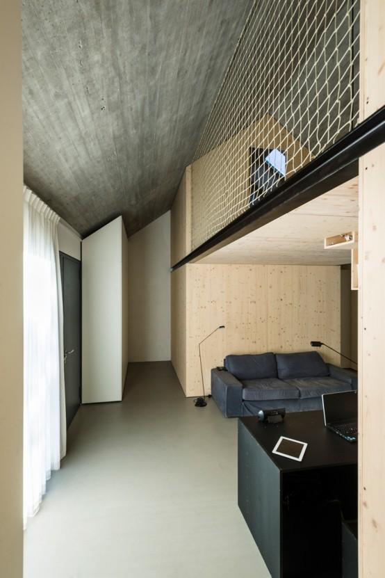 Simple And Stylish Minimalism Compact Karst House