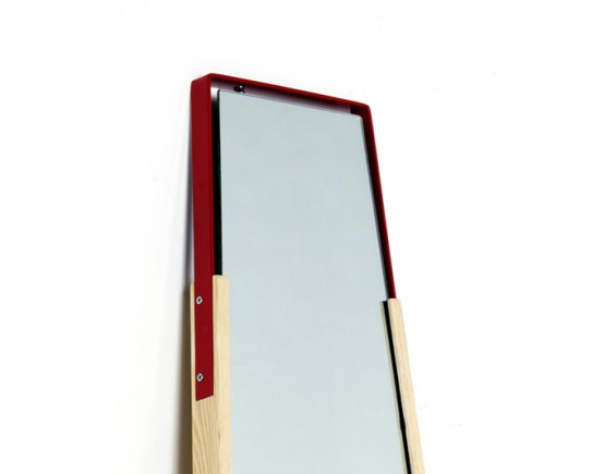 Simple Barrow Mirror Universal For Men And Women