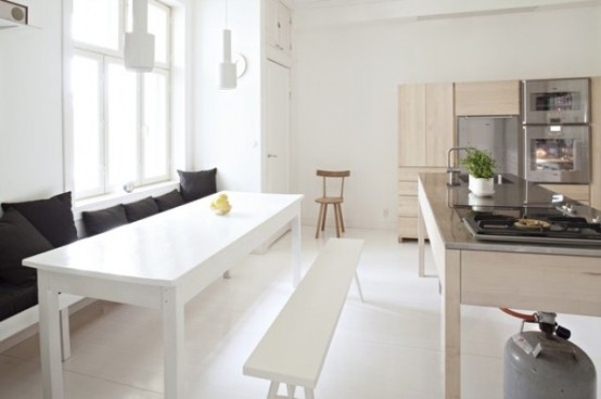 Simple Handmade Wooden Kitchens By Carpenter Collective