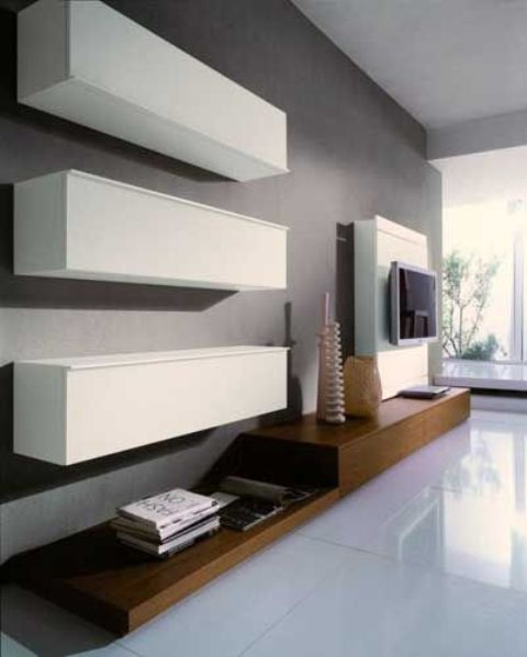 Simple Living Room Stoage Ideas. A Small, Low Unit Underneath Your TV Is A  Must Nowadays. You Can Store