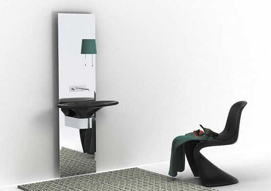 Simple Modern Lavatories