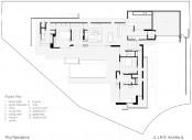Simple Modernistic Suburban Desert House Floor Plan