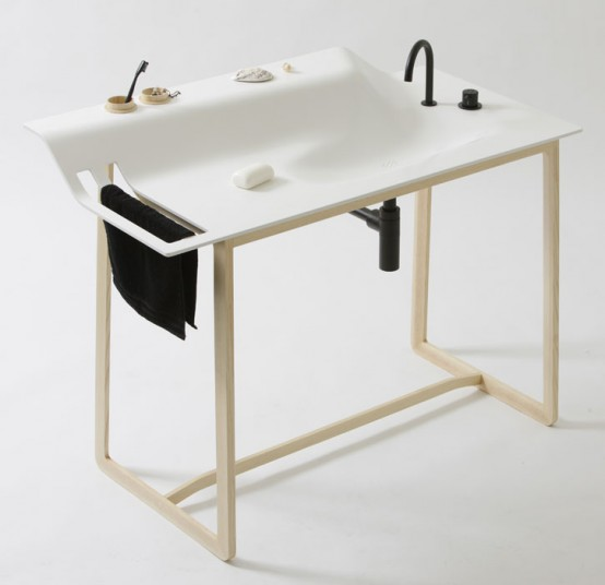 Simple, Stylish and Multi-Functional Washstand