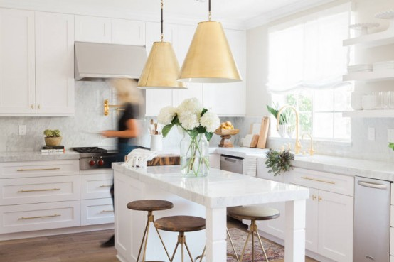 Simple White Kitchen white kitchen design archives - digsdigs