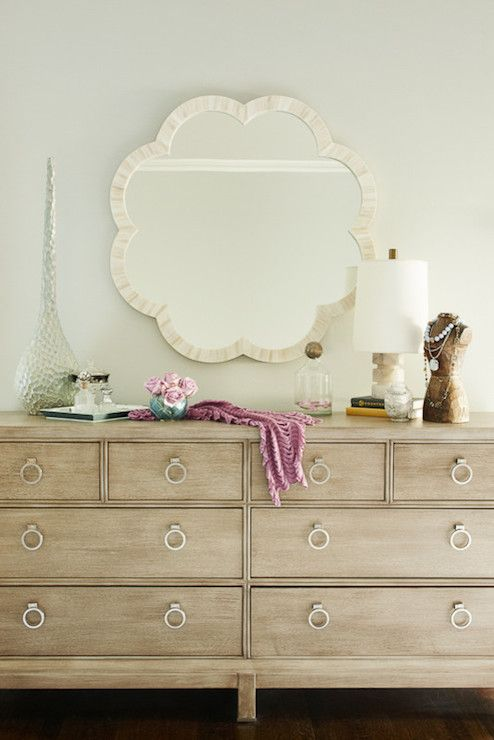 Hemnes dresser is made of pine so it could be whitewashed to add a rustic touch to your interior.