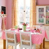 Simply Romantic Kitchen