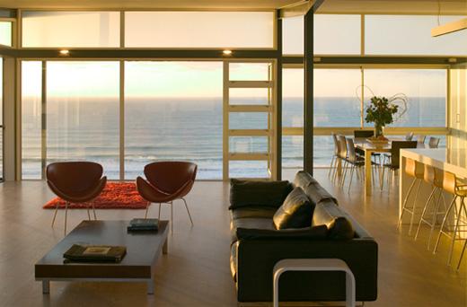 Single Storey House T Shaped Beach House