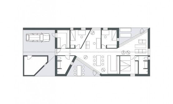 Sinus House Floor Plan