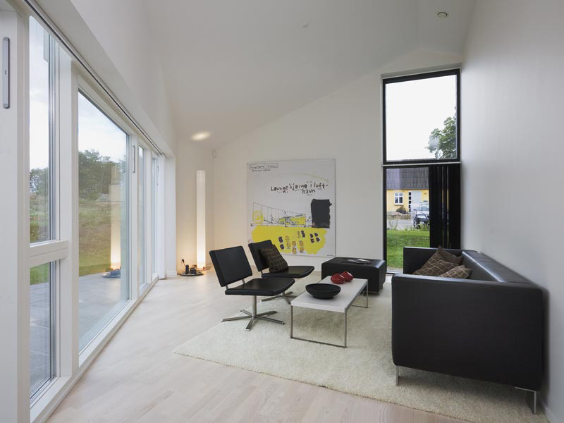 Country House Design In Denmark Sinus House By Cebra