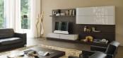 Sistema Concept By Doimo Design 17 Rovere Moka And Grigio Seta Glossy Lacquered
