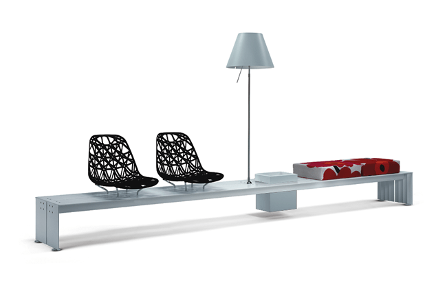 Minimal Modular Indoor Seating System – Sito from ALL+