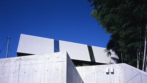 Futuristic Skew House