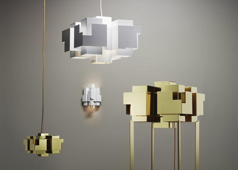 Skyline Lamp Series Inspired By The Stockholm Suburbs
