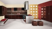 Sleek Glossy Kitchen Design