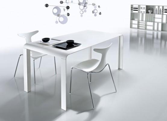 Slim Futuristic Tables from KREATY