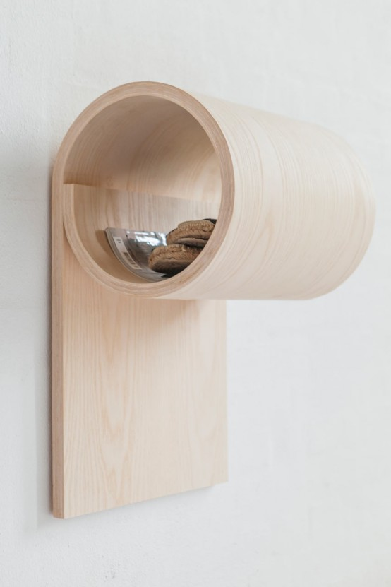 Sma Ting Rolled Wooden Storage For Small Spaces