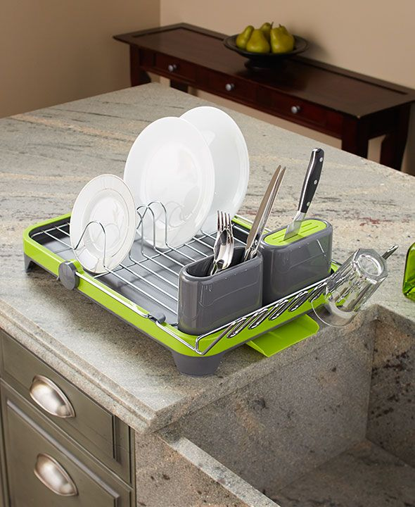 20 Small And Creative Dish Racks And Drainers | DigsDigs