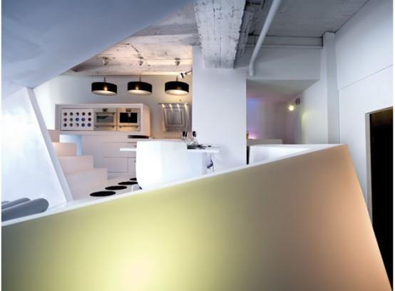 Small Apartment Futuristic Interior Design Digsdigs