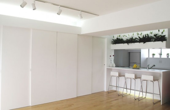small apartment with modern minimalist design - Minimalist Apartment Design