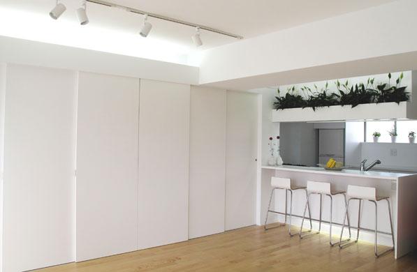 Small Apartment With Modern Minimalist Design