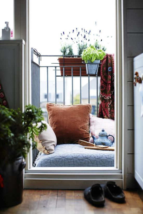 57 cool small balcony design ideas - Bedroom Balcony Designs