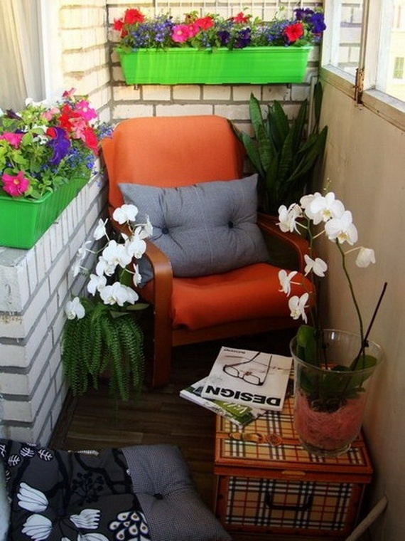 45 Cool Small Balcony Design Ideas: Small Balcony Design Ideas