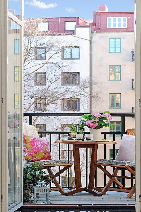 57 Cool Small Balcony Design Ideas