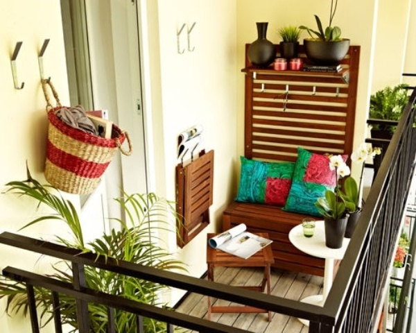 45 cool small balcony design ideas digsdigs Deco balcon appartement