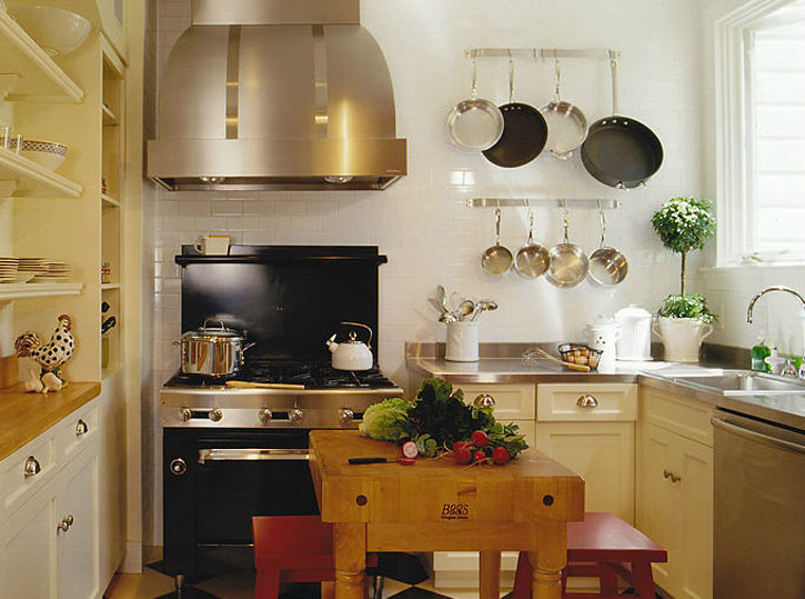 Small But Good Equipped Kitchen
