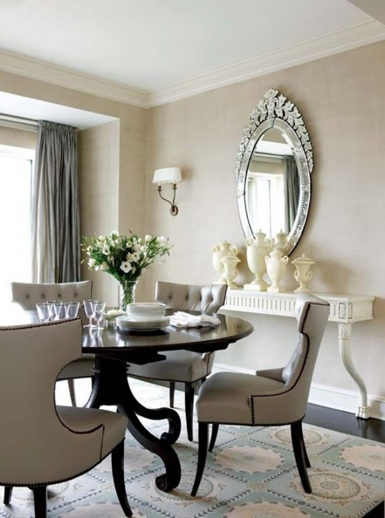 Small Dining Room Interior Design: 30 Small Dining Rooms And Zones Decorated With Style