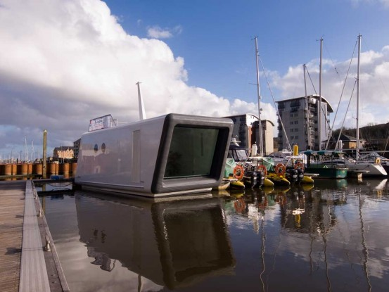 H2Office – Small Floating Prefab Office