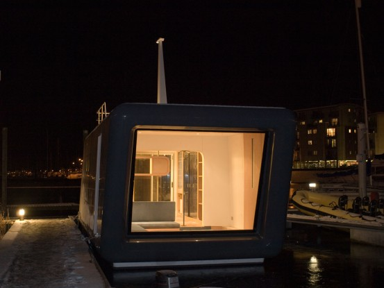 Small Floating Prefab House
