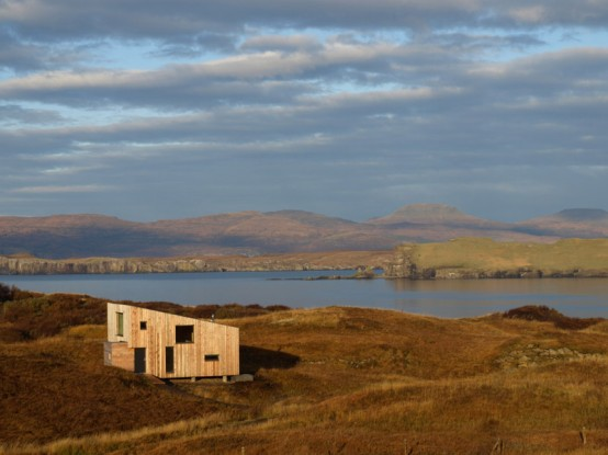 Scottish Small Holiday House Design – Fiscavaig by Rural Design