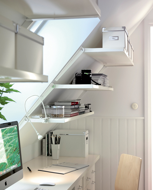 Home office small space Modern Small Home Office Design Digsdigs 57 Cool Small Home Office Ideas Digsdigs