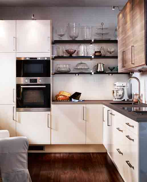 33 cool small kitchen ideas digsdigs for Kitchenette design ideas