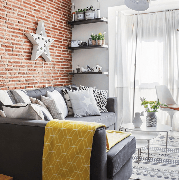 Picture Of small modern apartment with space saving decor  1