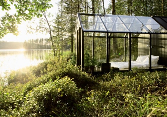 Small Modern Modular Houses To Put On The Lake Shore