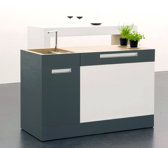 Small Modular Kitchen For Very Small Spaces