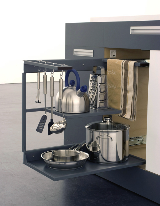 Small modular kitchen for very small spaces digsdigs for Compact kitchens for small spaces