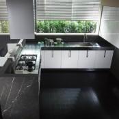 Small Stone Kitchen