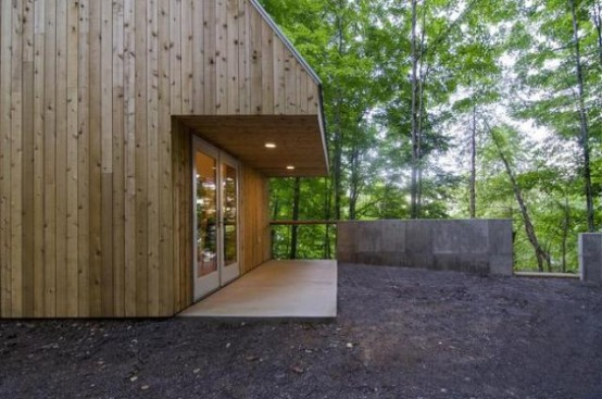 Small Studio House Design With Double Pitched Roof Digsdigs