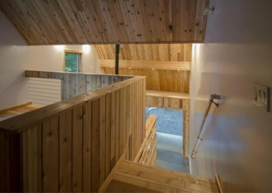 Small Studio House Design With Double Pitched Roof