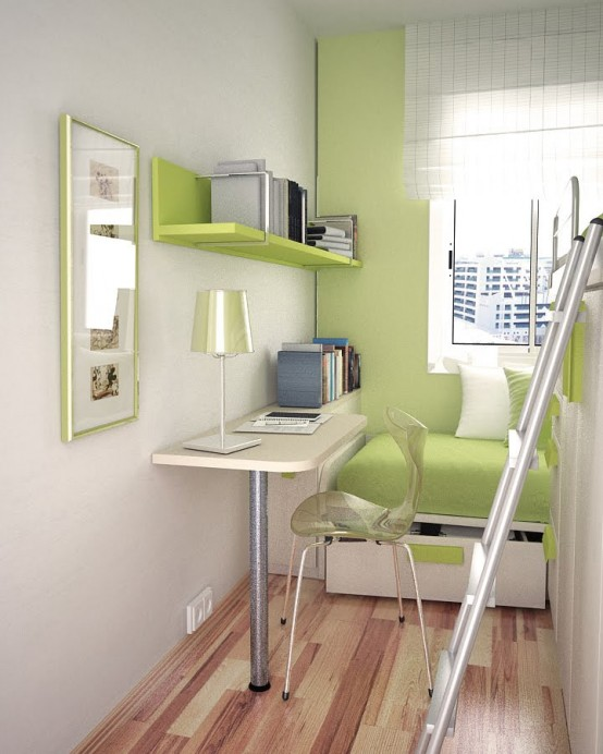 Small Modern Teen Bedroom 55 thoughtful teenage bedroom layouts - digsdigs