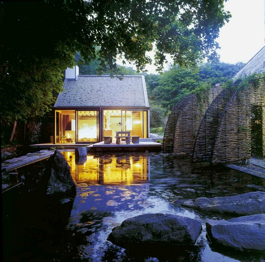 Small Vacation And Sauna House Design