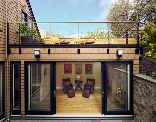 Small Victorian Home With Cool Courtyard And Roof Deck Castro Residence By Jones Haydu Digsdigs