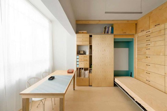 Smart 15 Square Meters Apartment Design Digsdigs