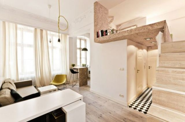 Smart And Creative Design Of A 29 Square Meters Apartment